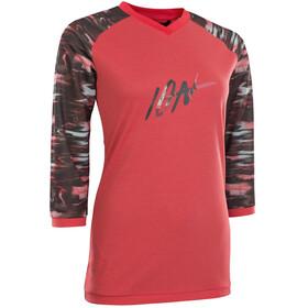 ION Scrub AMP 3/4 LS Tee Women pink isback